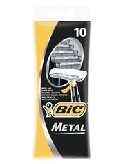 Бритва д.гоління Bic metal 10шт