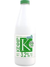 Кефір Молокія 900г 2.5% молокія класика пляшка
