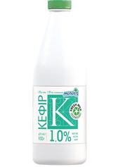 Кефір Молокія 900г 1.0% молокія класика пляшка