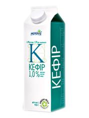 Кефір Молокія 930г 1.0% молокія класика пет