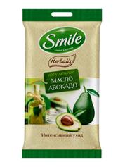 Серветки вологi Smile daily 10шт herbalis