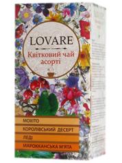 Чай Lovare 24п*1.5г квiтковій асорті