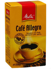 Кава Melitta 250г alegro молотий
