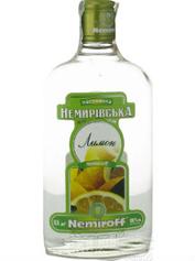 Настойка Немиров 0.25л лимон плоская
