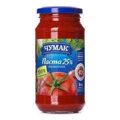 Томатна паста Чумак 450г с.б
