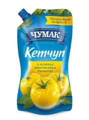 Кетчуп Чумак 280г з жовтих херсонських томатів д.п