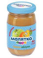 Пюре Малятко 180мл груша яблуко ск.