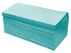 Полотенца 160л 245мм 1сл зеленые