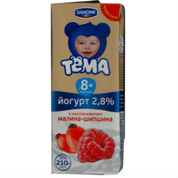 Йогурт Тема 207мл 1.5% tba slim малина шипшина