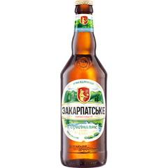 Пиво 1ПБ 0.5л закарпатське оригінальне