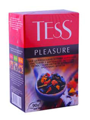 Чай Тесс 90г pleasure чорний