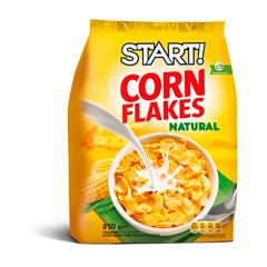 Пластівці Старт 850г кукурудзяні натуральні