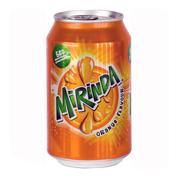 Вода Мірінда 0.33л апельсин з.б