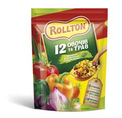 Приправа Роллтон 110г 12 овочив i трав гранули