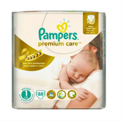 Підгузники Pampers premium care newborn 2-5 кг 88шт