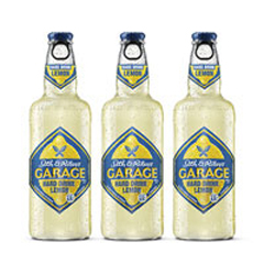 Пиво Garage 0.44л hard lemon