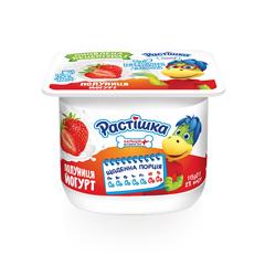 Йогурт Растишка 115г 2% полуниця
