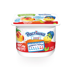 Йогурт Растiшка 115г 2% персик
