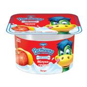 Йогурт Растишка 115г 2% яблуко груша