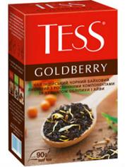 Чай Тесс 90г goldberry чорний