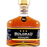 Коньяк Bolgrad 0.5л Болградский 3 зiрочки
