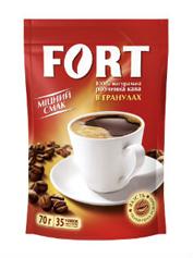 Кава Fort 70г розчинна гранули пакет