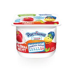 Йогурт Растiшка 115г 2% малина стакан