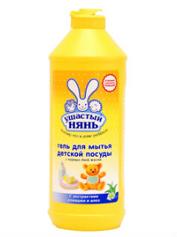 Гель Вухатий нянь 500мл д.міття посуд та приладдя дитячий