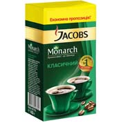 Кава Jacobs 450г монарх мелена