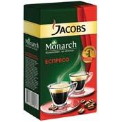Кава Jacobs 230г монарх мелена еспресо