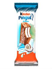 Тістечко бісквітне Кіндер пінгвін 30г кокос