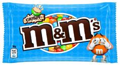 Драже M&M`s 36г рис.кулькі молочний шоколад