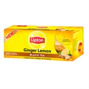 Чай Ліптон 25п чорний giger lemon