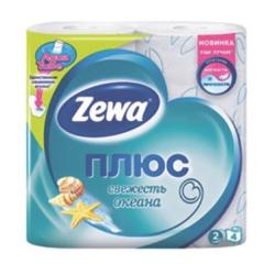 Туалетний папір Zewa 3х сл персик 4шт                        100-107