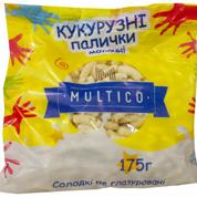 Кукурудзяні палички Multico Odessa 175г молочні