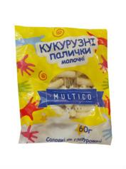 Кукурудзяні палички Multico Odessa 60г молочні