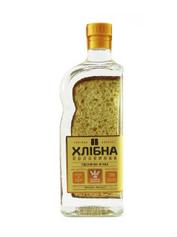 Горілка Хлібна Половинка 0.45л 37.5% пшенична м`яка