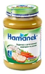Пюре Hame 190г індичка овочі рис
