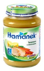 Пюре Hame 190г телятина овочі