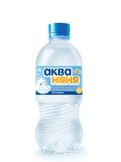 Вода Аква няня 0.33л н.газ пет