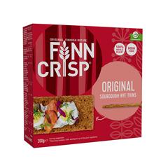 Сухарики житні Фінн Крисп 200г oringinal taste цільнозмелене борошно