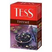 Чай Tess 90г thyme чорний