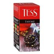 Чай Tess 25п thyme чорний
