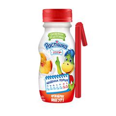Йогурт Растiшка 185г 1.5% персик абрикос пет