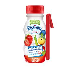 Йогурт Растiшка 185г 1.5% полуниця пет