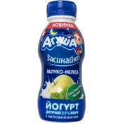 Йогурт Агуша 200мл 2,7% яблуко меліса