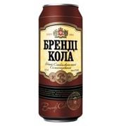 С.алк.напiй Оболонь Бренді Кола 0.5л 8% з.б