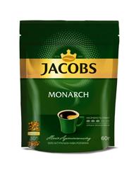 Кава Jacobs 60г монарх розчинна б.к