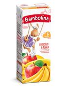 Нектар Bambolina 200 мл яблуко банан