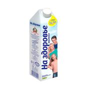Молоко На здоров`я 1л 2.5% т.п